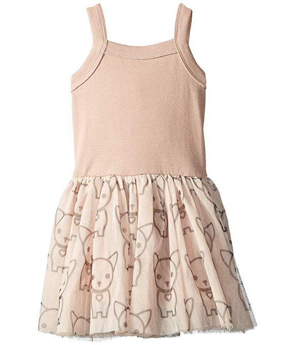 Hux Baby Chihuahua Summer Ballet Dress - Rose