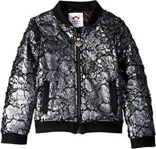 Appaman Soft Nikki Bomber Jacket Dark Silver