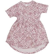 HuxBaby Floral Swirl Dress - Lilac