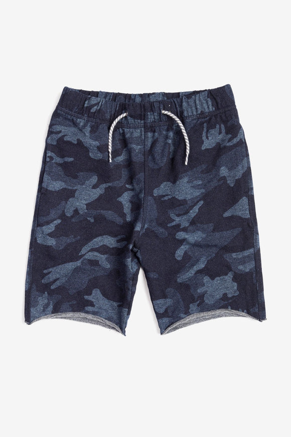 Appaman Indigo Camo Camp Shorts