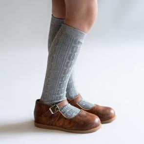 LIttle Stocking Co. Knee High Socks - Grey