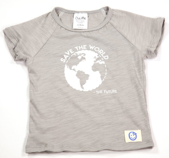 Oui Me - Save the World Tee