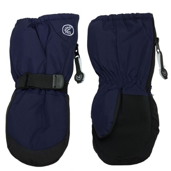 Calikid Long Cuff Mitten - Navy