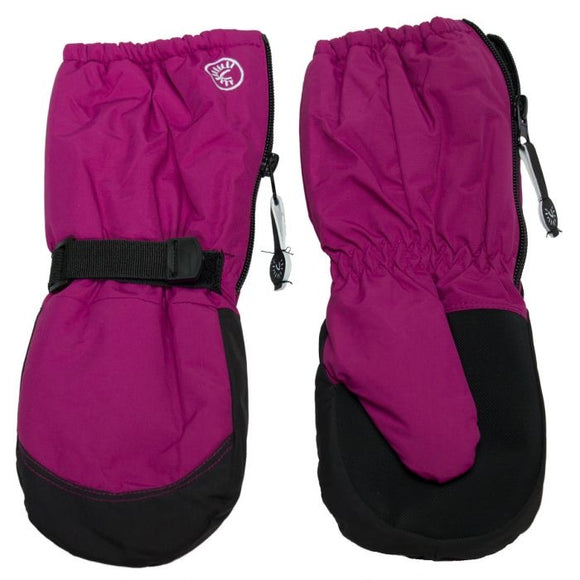 Calikid Waterproof Long Cuff Mitts - Fuschia