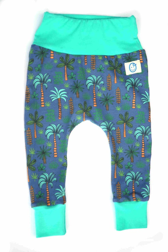 Oui Me - Palm Tree Harem Pants