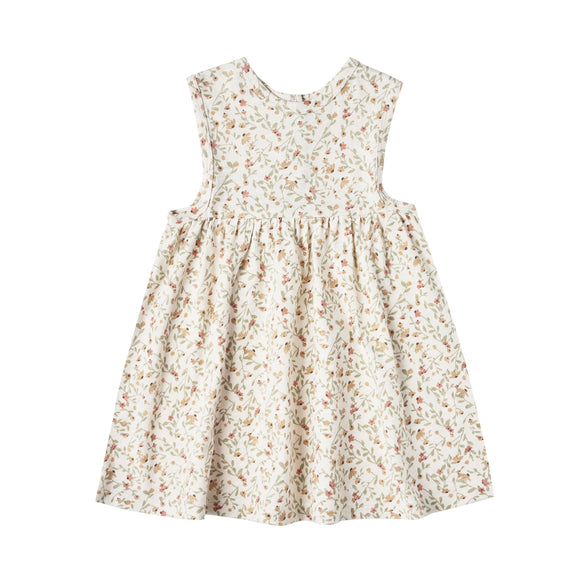 Rylee & Cru Layla Printed Dress - Ivory Spring Meadow