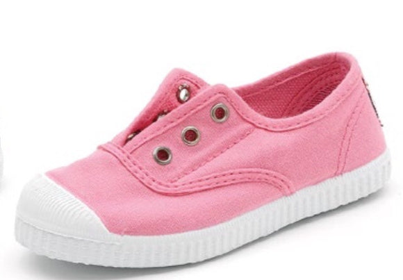 Cienta Slip-on Sneakers - bright pink