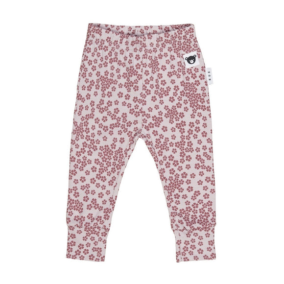HuxBaby Floral Legging - Lilac