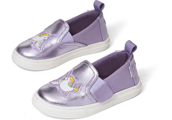 Toms Orchid Foil Canvas TN Luca Slipon (Unicorn)