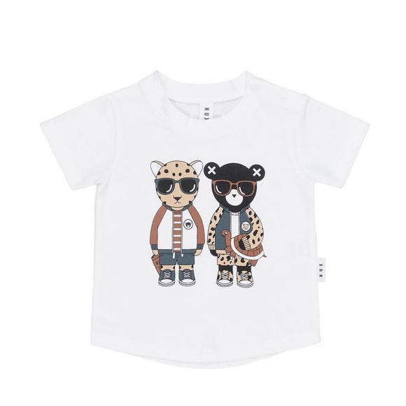 HuxBaby Leopard Friends T-Shirt