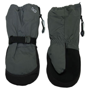 Calikid Waterproof Long Cuff Mitts - Charcoal
