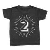 Whistle & Flute Milestone Number T-Shirt