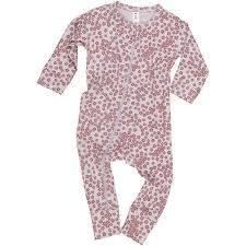 HuxBaby Floral Zip Romper - Lilac