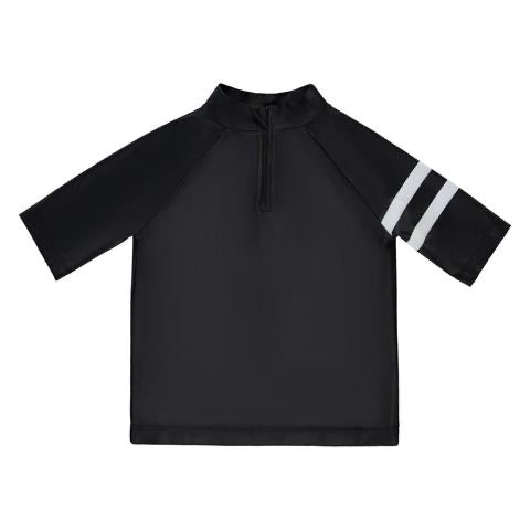 BIRDZ Children Black Rashgaurd
