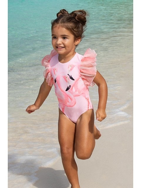 shade critters- Tulle Sleeve 1pc- Pink Flamingo