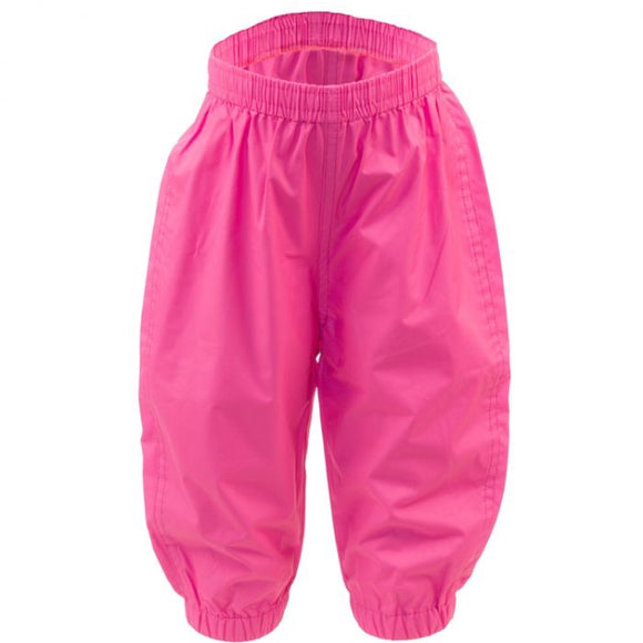 100% Waterproof Rain Pants - Bright Pink