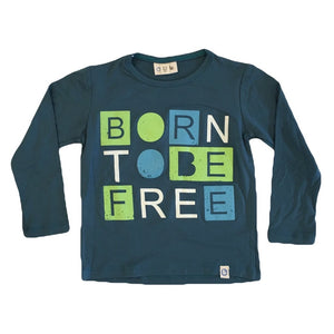 Oui Me -Born to Be Free Long Sleeve Tee