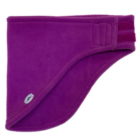 Calikids Fleece Neck Warmer with Velcro - Violet