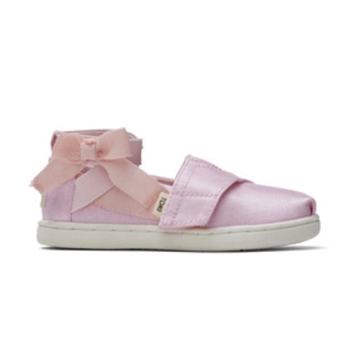 Toms Ballerina Shiny Pink