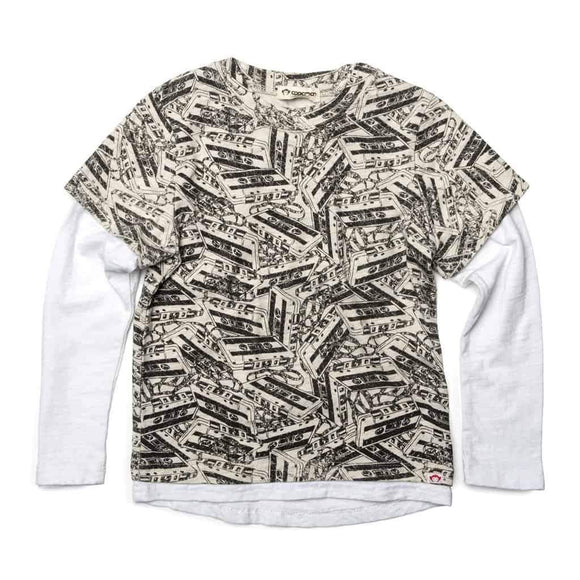 Appaman Repo long sleeve shirt - Cloud heather