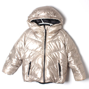 Finger in the Nose Reversible Down Jacket