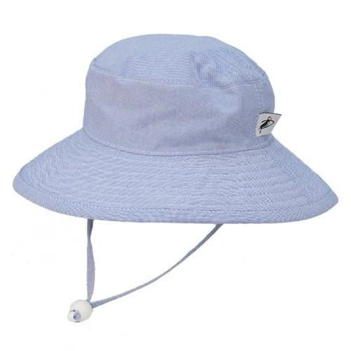 Puffin Gear Cotton Sunbaby Hat - Oxford Blue