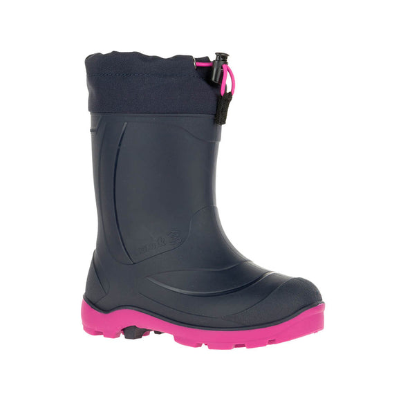 Kamik Snobusters- Black with Pink Sole (-32C Insulated Boots)