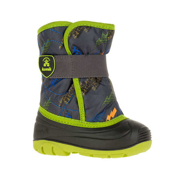 Kamik Snowbug- Green Lightning (-23C Insulated Winter Boots)