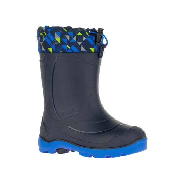 Kamik Snobusters 2 - Black with Blue  (-32C Insulated Boots)