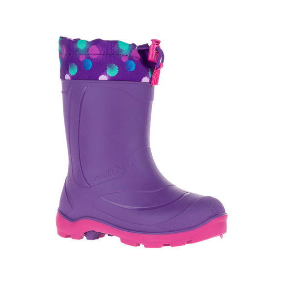 Kamik Snobusters- Purple (PTE) (-32C Insulated Boots)