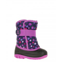 Kamik Snowbug- Purple Dots (-23C Insulated Winter Boots)
