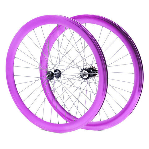 Anodized 50mm Fixie Wheels 199$