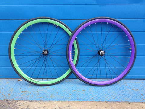 Eight Inch Wheelsets