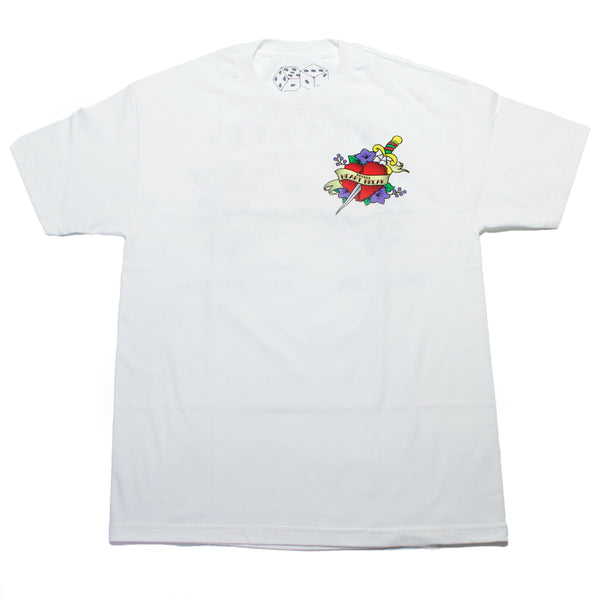 "HBK & MOOKEE ""INSPIRE CULTURE"" WHITE SHIRT"