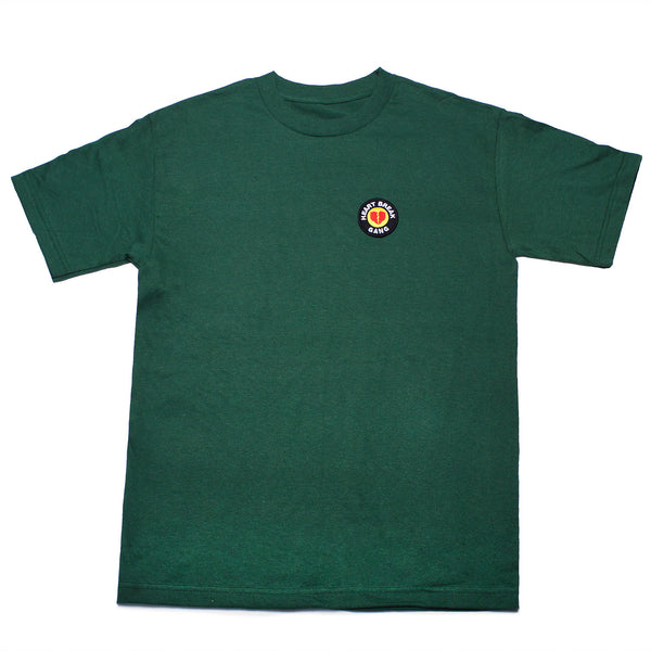 Heart Break Patch Tee (Forest Green)