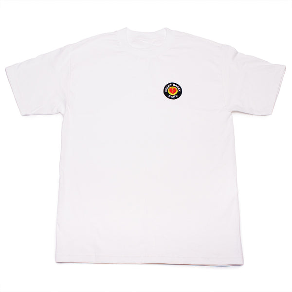 Heart Break Patch Tee (White)