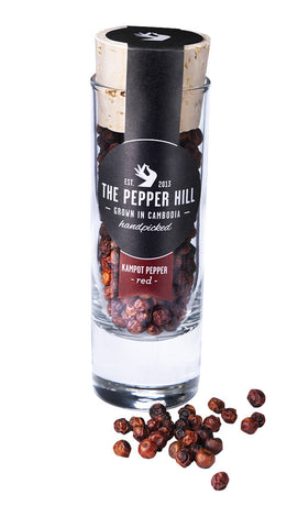 Roter Kampot-Pfeffer 30g - The Pepper Hill