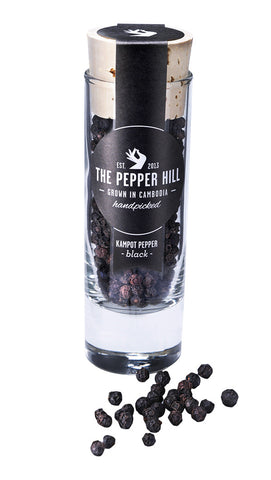Schwarzer Kampot-Pfeffer 30g - The Pepper Hill