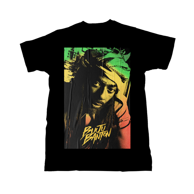 Buju Banton Upside Down 2020 T-Shirt + Digital Download