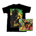 Buju Banton Upside Down 2020 T-Shirt + CD