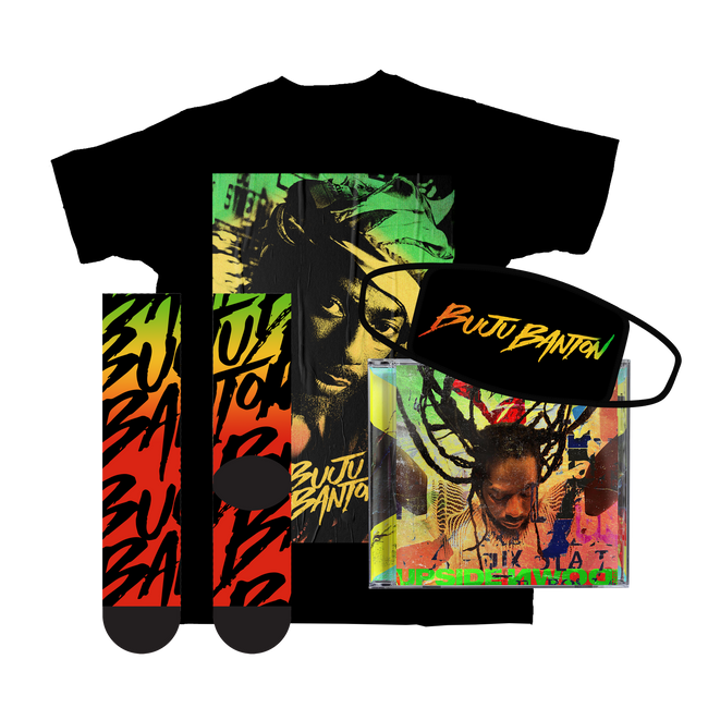 Buju Banton Upside Down 2020 Deluxe + CD