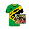Buju Banton Upside Down Soccer Jersey + CD
