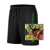 Buju Banton Upside Down 2020 Fleece Short+CD