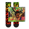Buju Banton Upside Down 2020 Adult Socks + CD