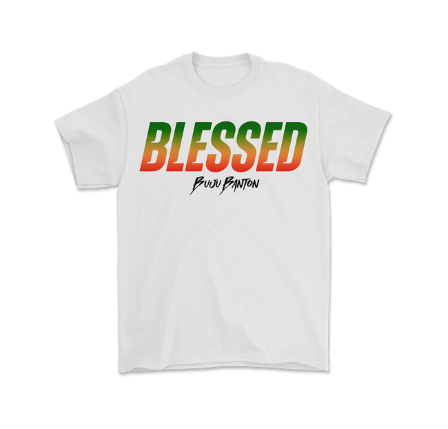 Buju Banton Blessed T-Shirt + Digital Download
