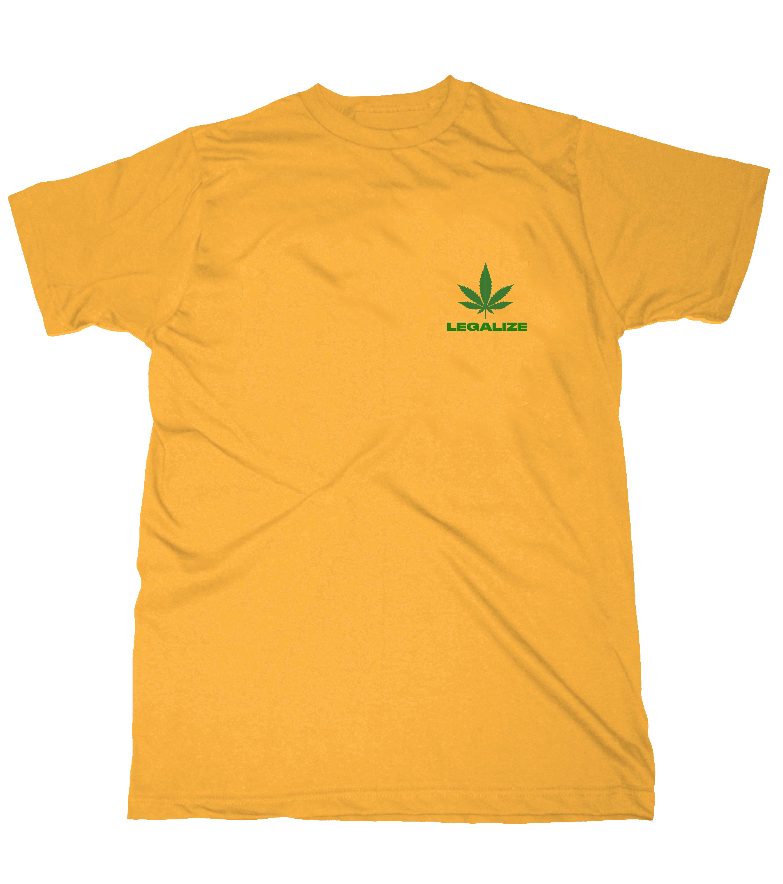 Ganja Man Yellow T-Shirt