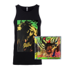 Buju Banton  Upside Down 2020  Men's Tank top + CD