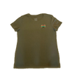 Adults Olive Crew BB T-Shirt