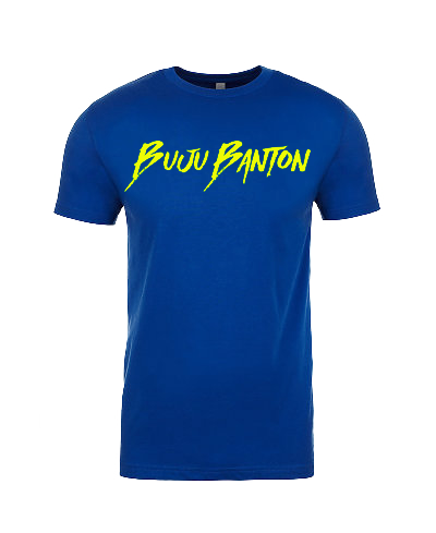 Blue Signature  T-Shirt