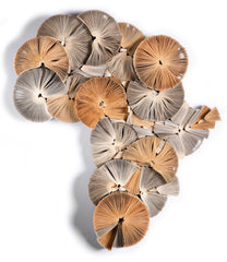 Small Africa Reinvented - Book Sculpture
